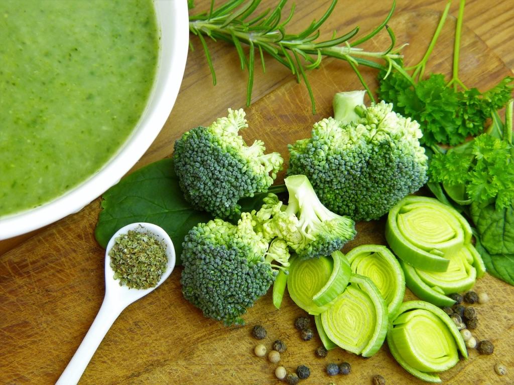 Vitamin B auch im Brokkoli